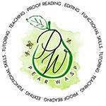Pear Wasp English Tutoring Logo